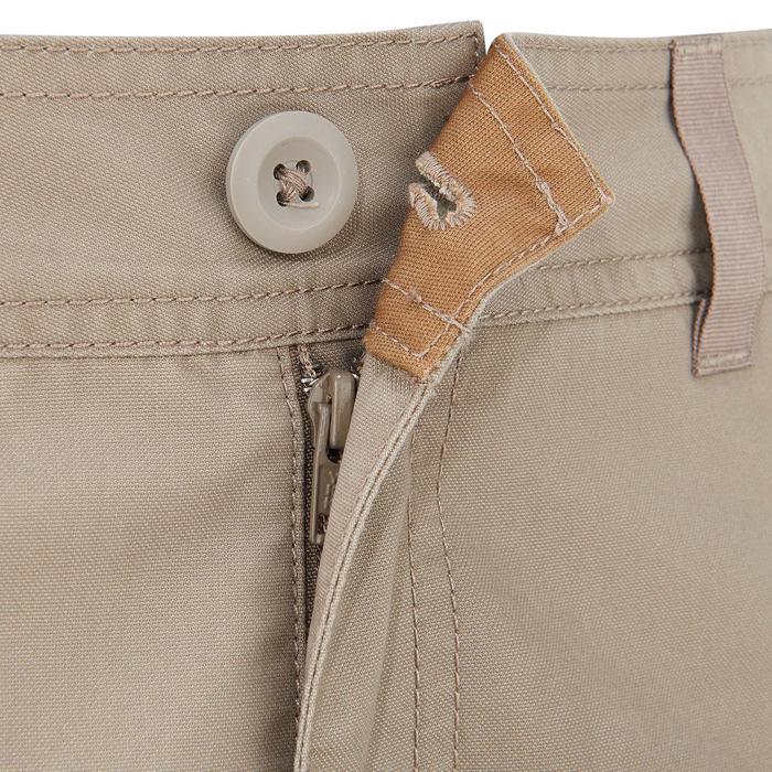 Pantalón de senderismo por la naturaleza hombre H500 beige