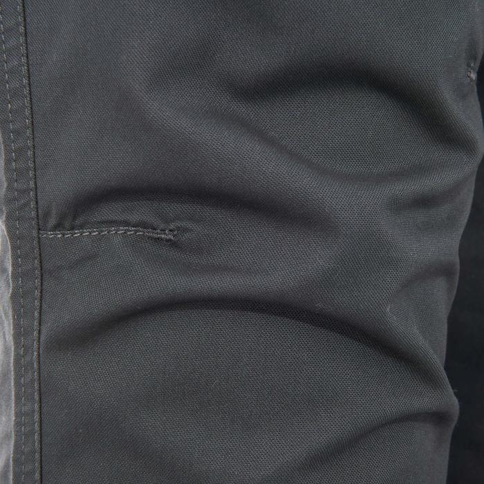 Pantalón de senderismo por la naturaleza hombre NH500 gris oscuro