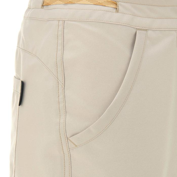 Pantalon randonnée nature NH100 beige femme