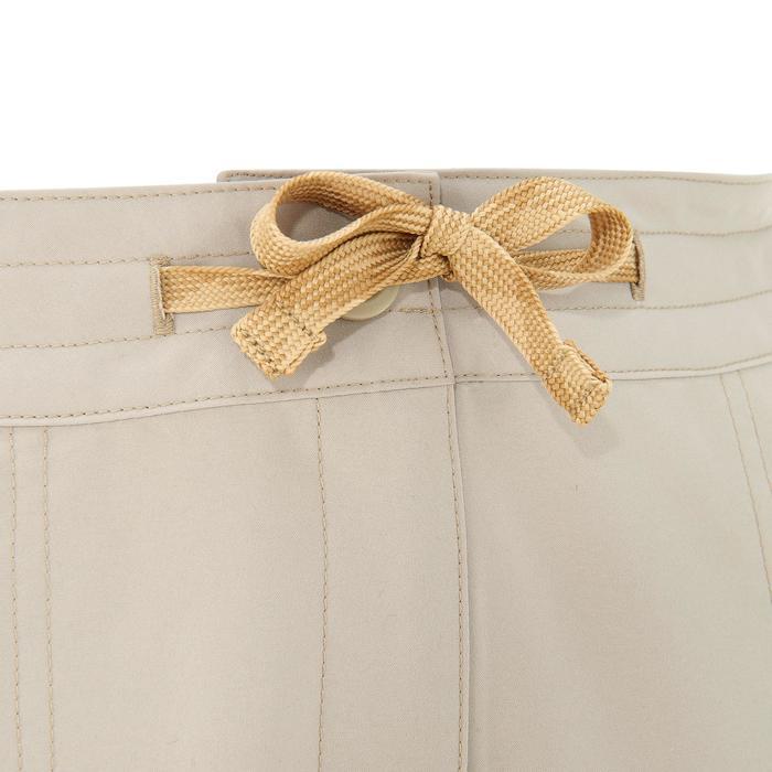 Pantalón de senderismo en la naturaleza mujer NH100 beige