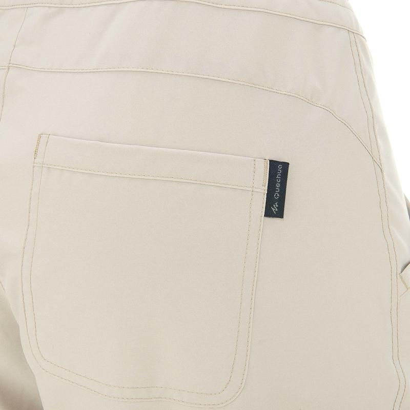 Women's Hiking Trousers NH100 - Beige