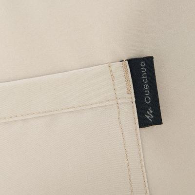 Жіночі штани для хайкінгу NH100 - Бежеві
