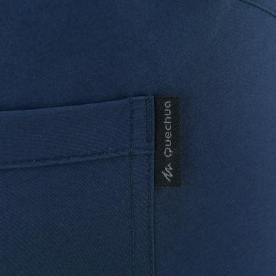 Pantalón de excursionismo mujer Arpenaz 50 azul marino