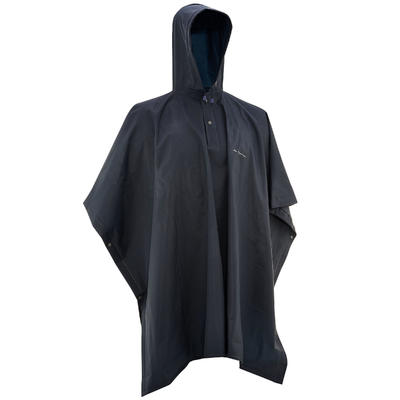 Junior Hiking Rain Poncho Arpenaz 10L - Blue