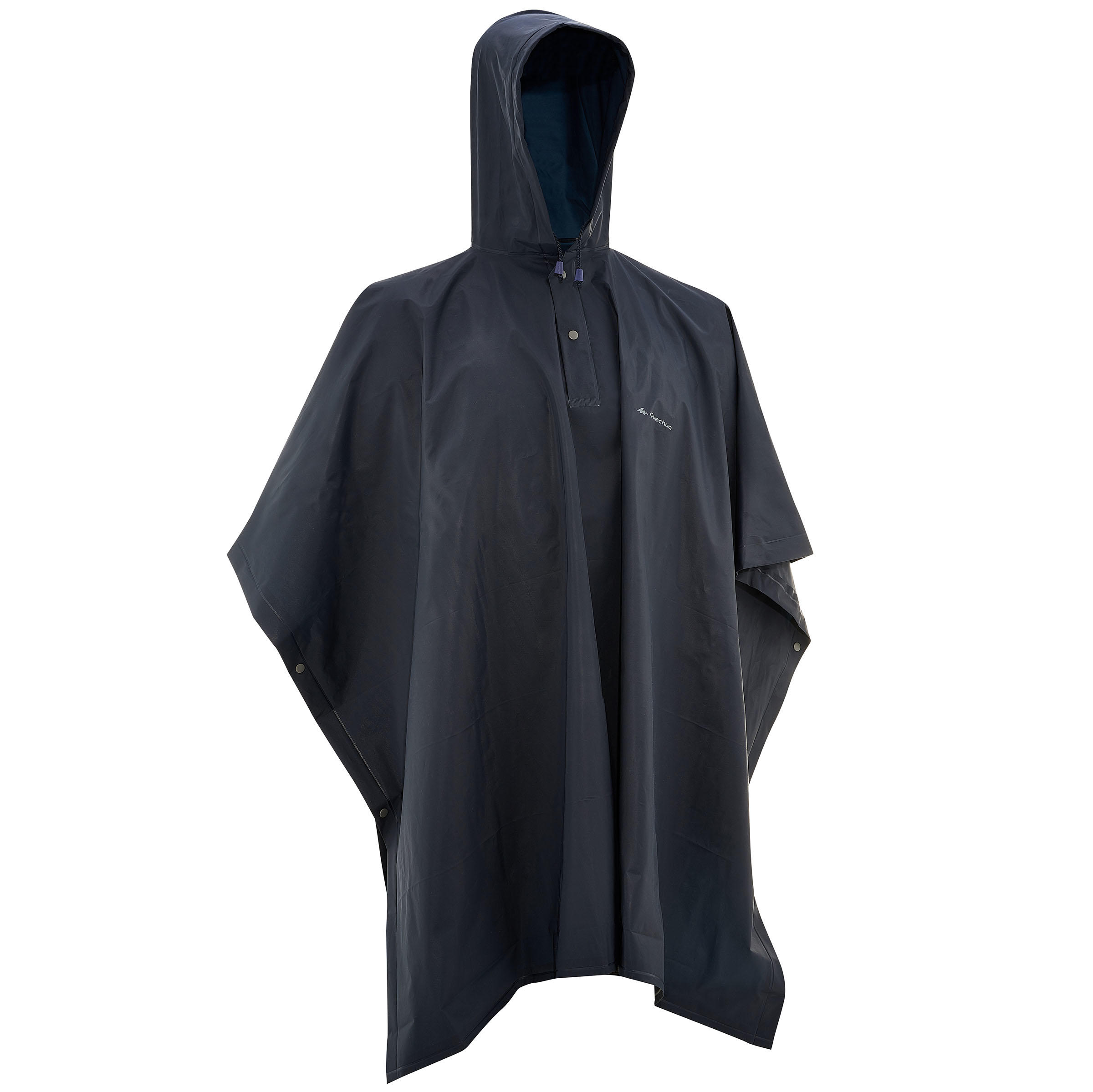 Impermeable poncho lluvia Arpenaz 10L Junior azul