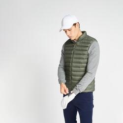 Golf Daunenweste MW500 Herren khaki