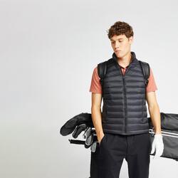 Bodywarmer voor golf heren MW500 zwart