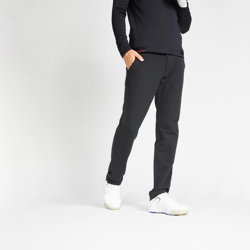 Pantalon de golf hiver homme CW500 noir
