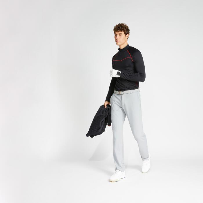 Sous pull de golf hiver homme CW500 noir