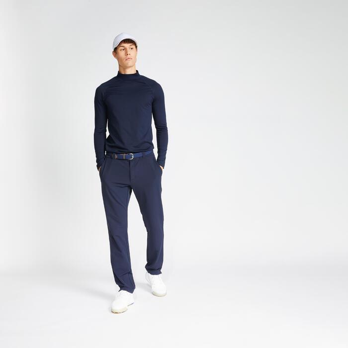 Golf Unterziehpullover warm CW500 Herren marineblau