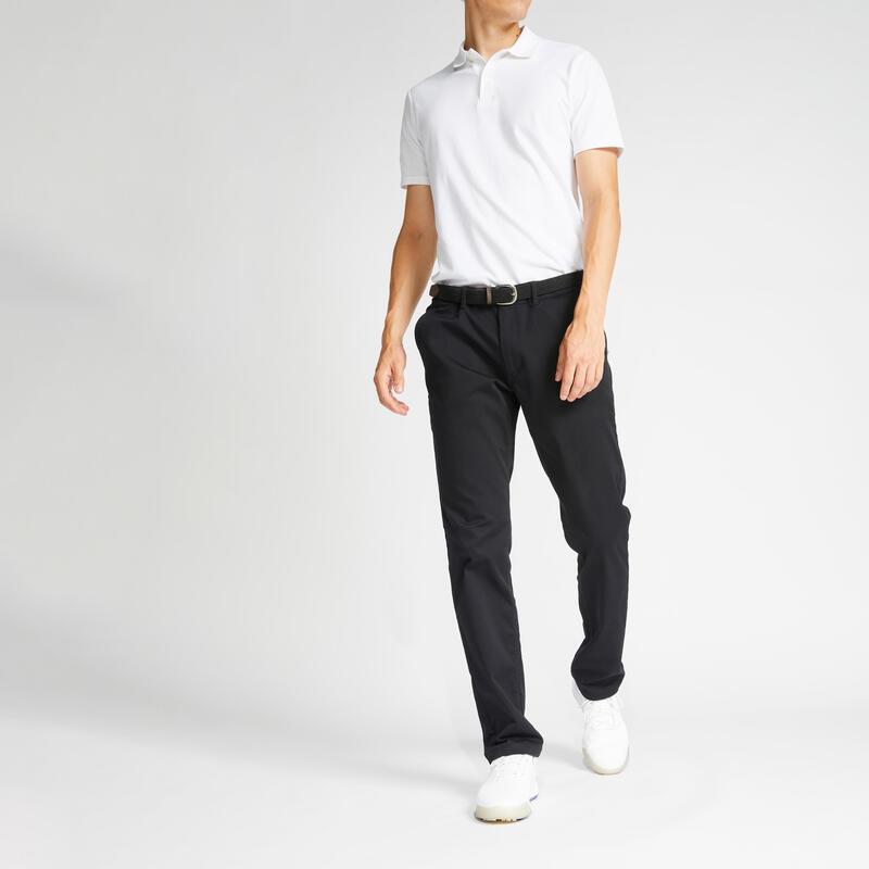 Pánské golfové kalhoty MW500 černé