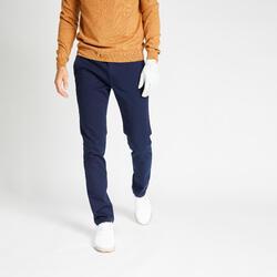Pantalon de golf homme MW500 bleu marine