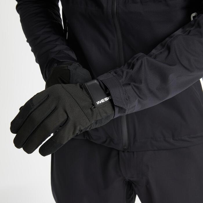 Veste de pluie de golf imperméable homme RW500 noire