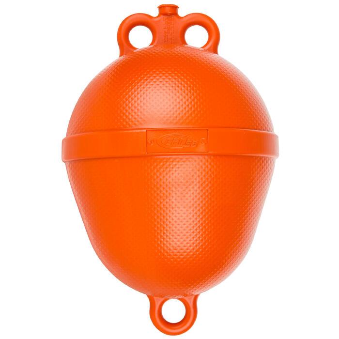 Bouée de mouillage bateau rigide orange - 210453
