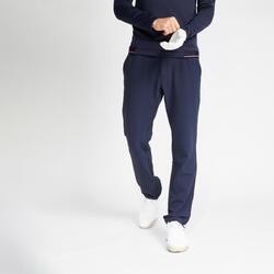 Golfbroek voor heren CW500 winter marineblauw