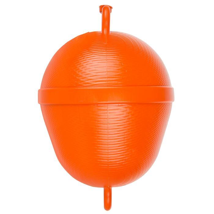 Bouée de mouillage bateau rigide orange - 210455