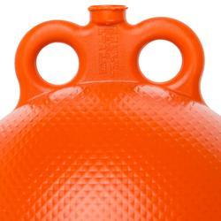 Meerboei in hard plastic voor boot oranje