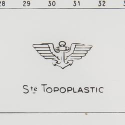 Cras navigatieplotter Topoplastic