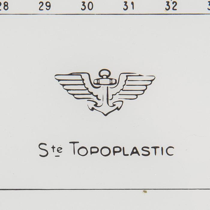 Règle Cras Bateau TOPOPLASTIC - 210490
