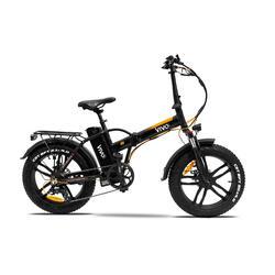 """Bici pieghevole elettrica a pedalata assistita Fatbike Vivobike 20"""" R2"""