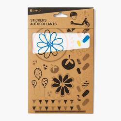 Sticker Aufkleber Oxelo Blumen
