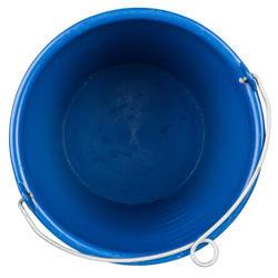 Stijve emmer van 10 liter met oog voor boot blauw - 210533