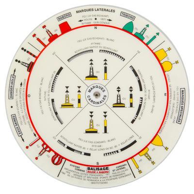 Disque des signaux maritimes bateau Plastimo