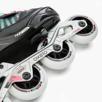 Patin à roues alignées enfant FIT 5 Jr gris rose