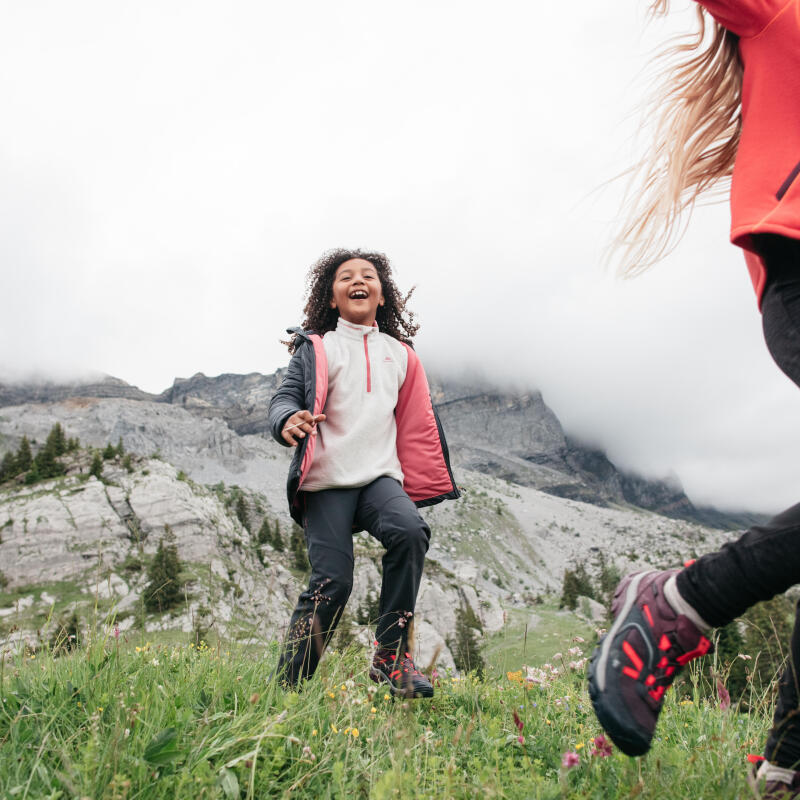 How do you motivate children whilst hiking?