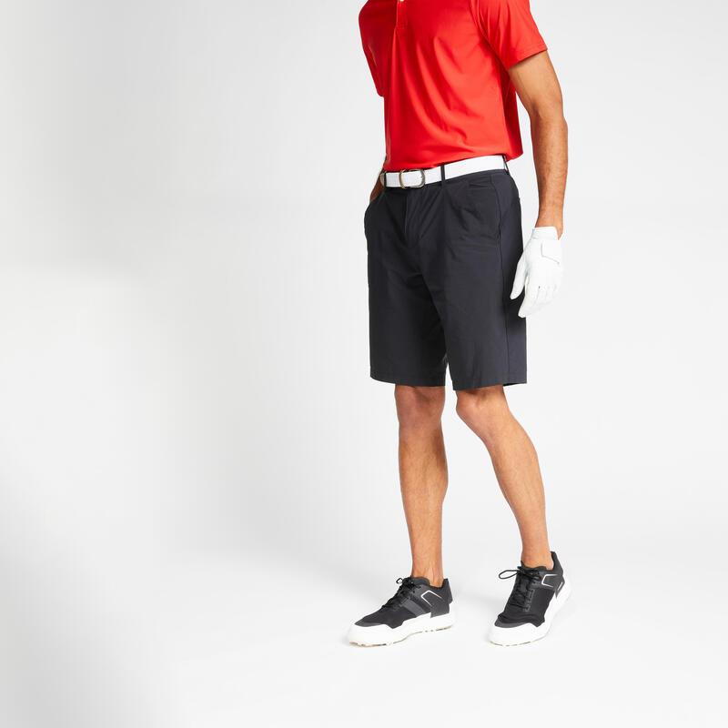 Short de golf homme WW500 NOIR