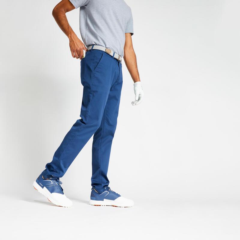 Pantalon de golf homme MW500 bleu