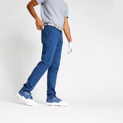 Golfbroek voor heren MW500 blauw