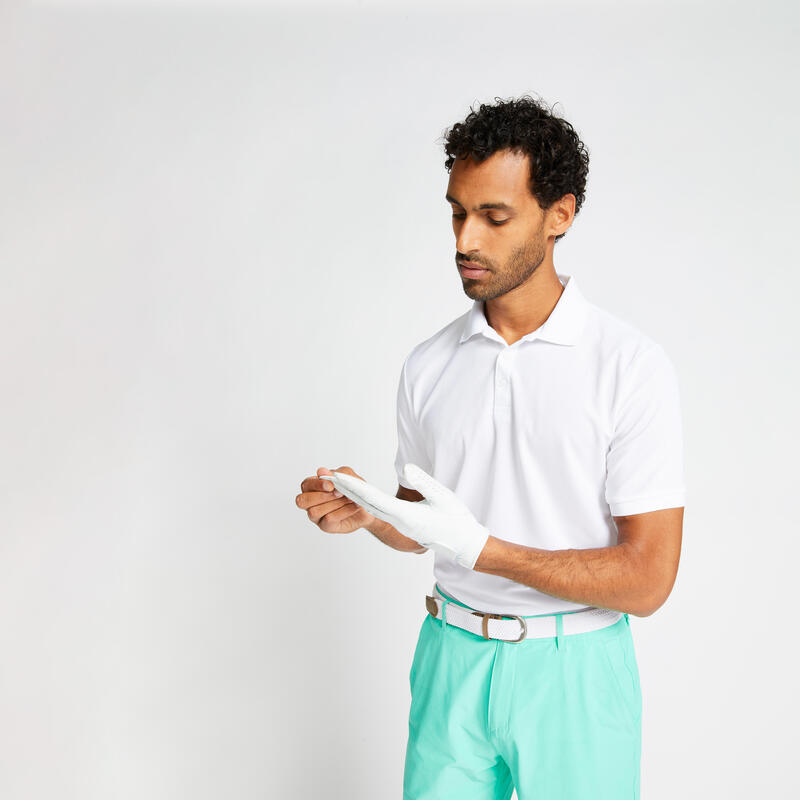 Tricou Polo Light Golf Alb Bărbaţi