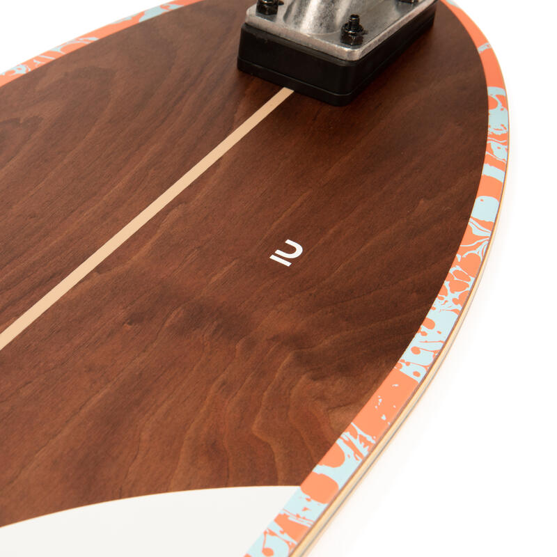 ลองบอร์ดเซิร์ฟสเก็ตรุ่น Carve 540 (ไม้สีขาว)