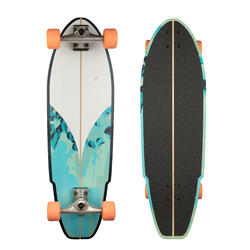 LONGBOARD SURFSKATE CARVE 540 AZUL/VERDE