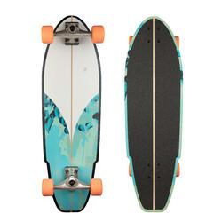Longboard surfskate CARVE 540 BLUE GREEN