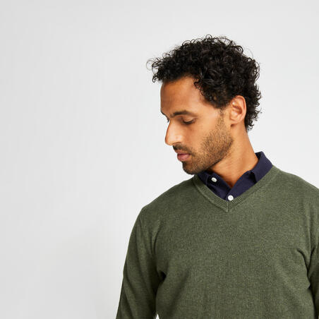 Vyriškas džemperis, haki spalvos