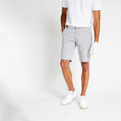 Men's golf shorts MW500 grey