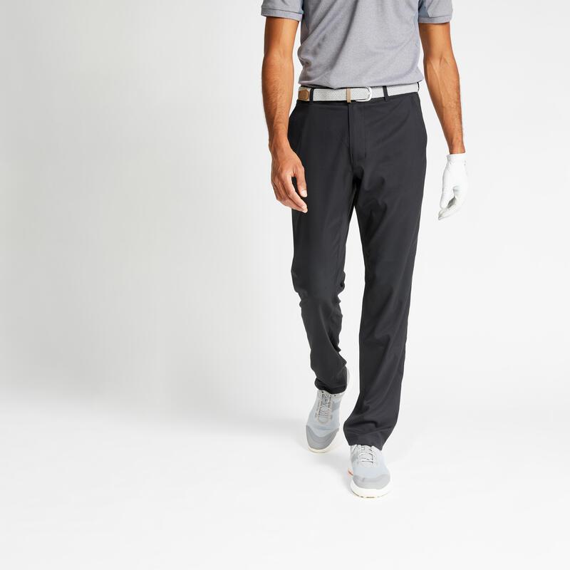 Men's golf trousers WW500 black