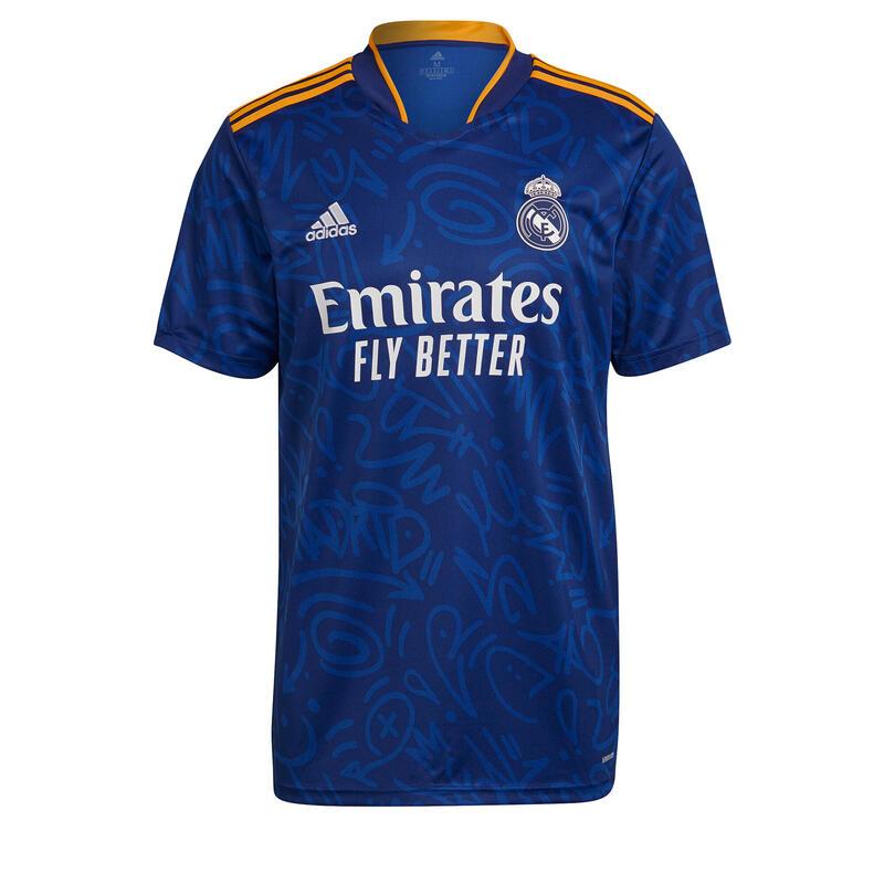 MAILLOT DE FOOTBALL EXTERIEUR REAL MADRID ENFANT 21/22 ADIDAS