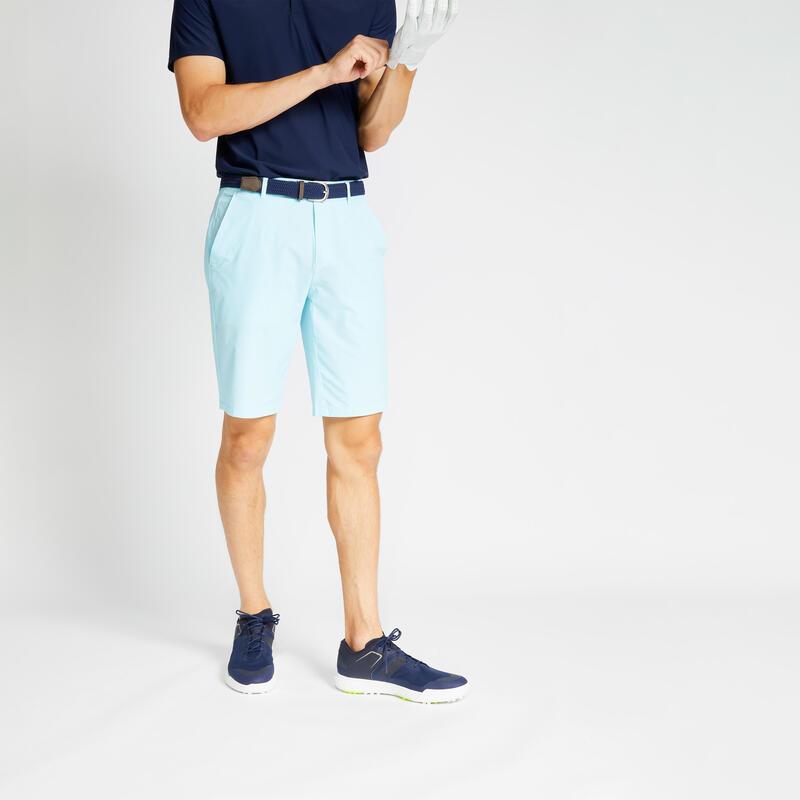 Pantalón Corto Golf WW500 Hombre Azul
