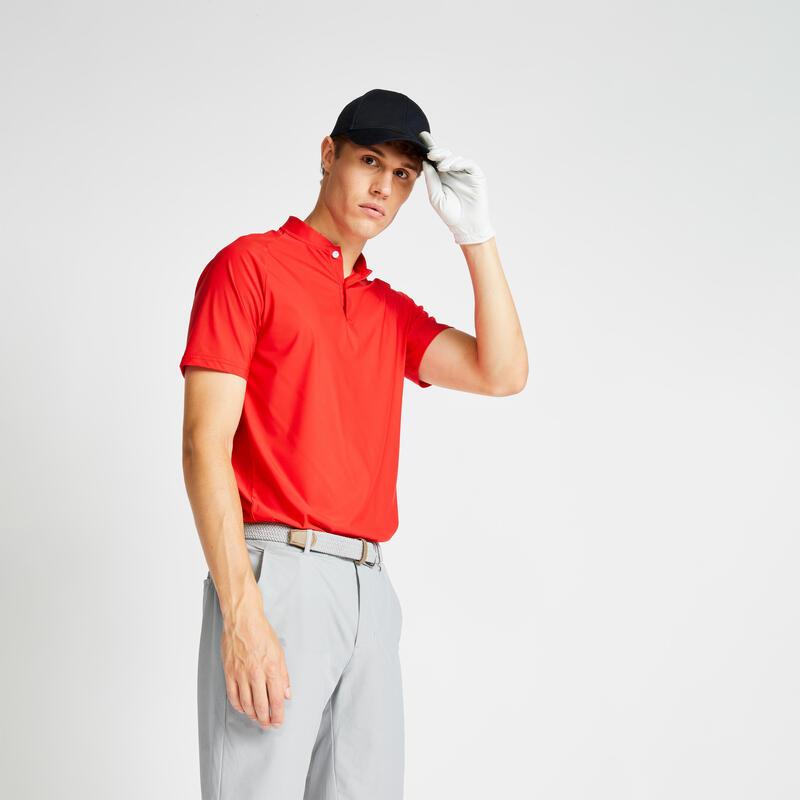 Pánské golfové polo WW900 červené