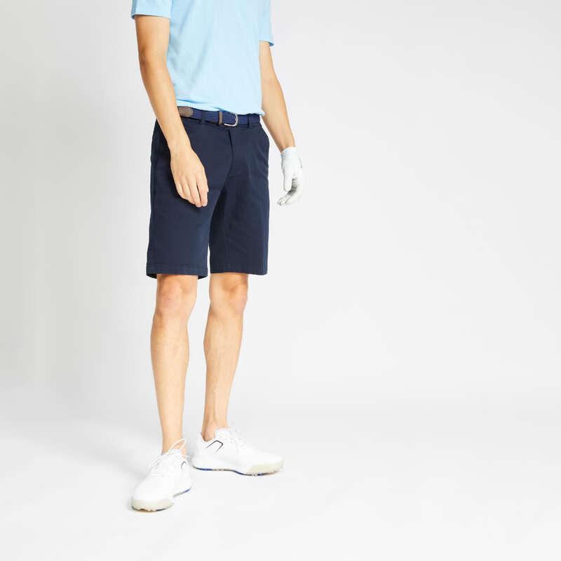 GOLFSHORTS MILT VÄDER Golf - Shorts MW500 herr marinblå INESIS - Golfkläder och Golfskor