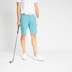 男款高爾夫短褲-淺碧藍色