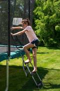 TRAMPOLÍNA Cvičení pro děti - ŽEBŘÍK K TRAMPOLÍNĚ DOMYOS - Trampolíny