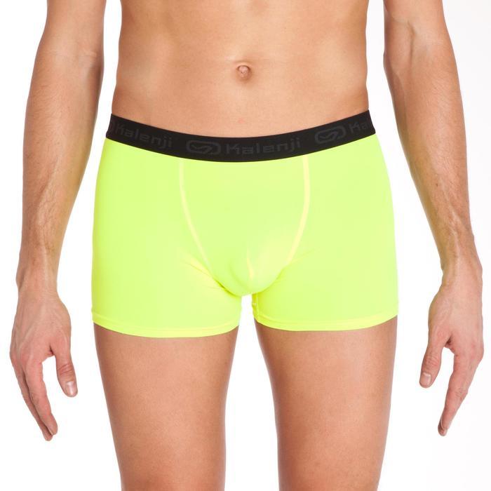 Boxer running hombre transpirable amarillo