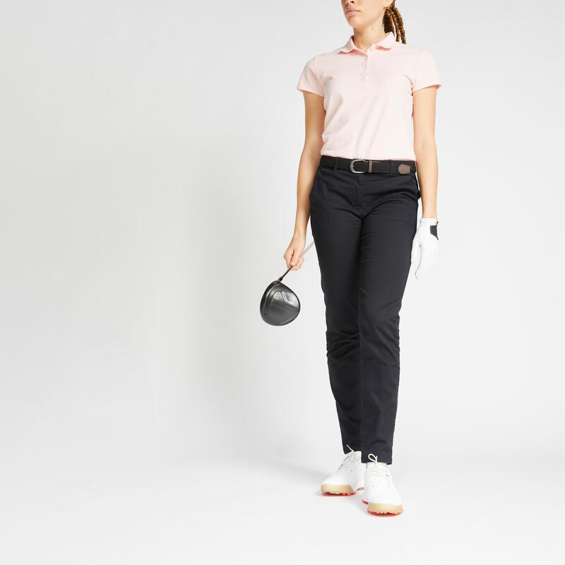Pantalon de golf femme MW500 noir