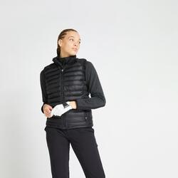 Doudoune de golf sans manches hiver femme CW500 noire