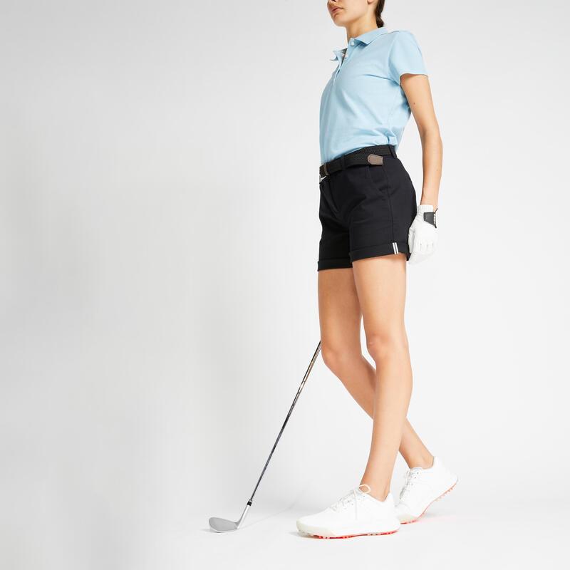 Short de golf femme MW500 noir