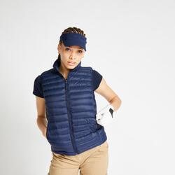 Bodywarmer voor golf dames MW500 marineblauw
